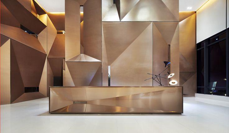 Lobby&Reception Desk&Counter&hallway&foyer design