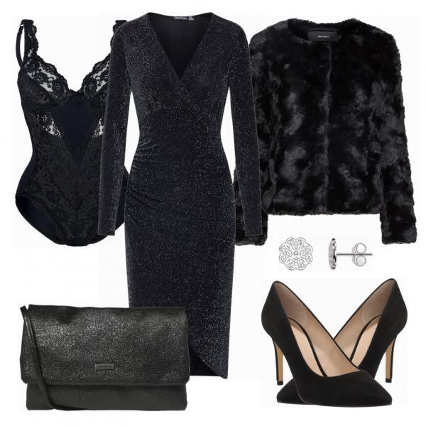 Abend Outfits: Elegant bei FrauenOutfits.de #abendoutfit #modetrend2018 #fashion #outfit #style #damenoutfit #frauenoutfit #datenight #party