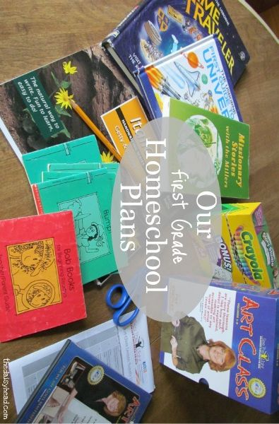 One moms Homeschool Plans 2013-14- First Grade