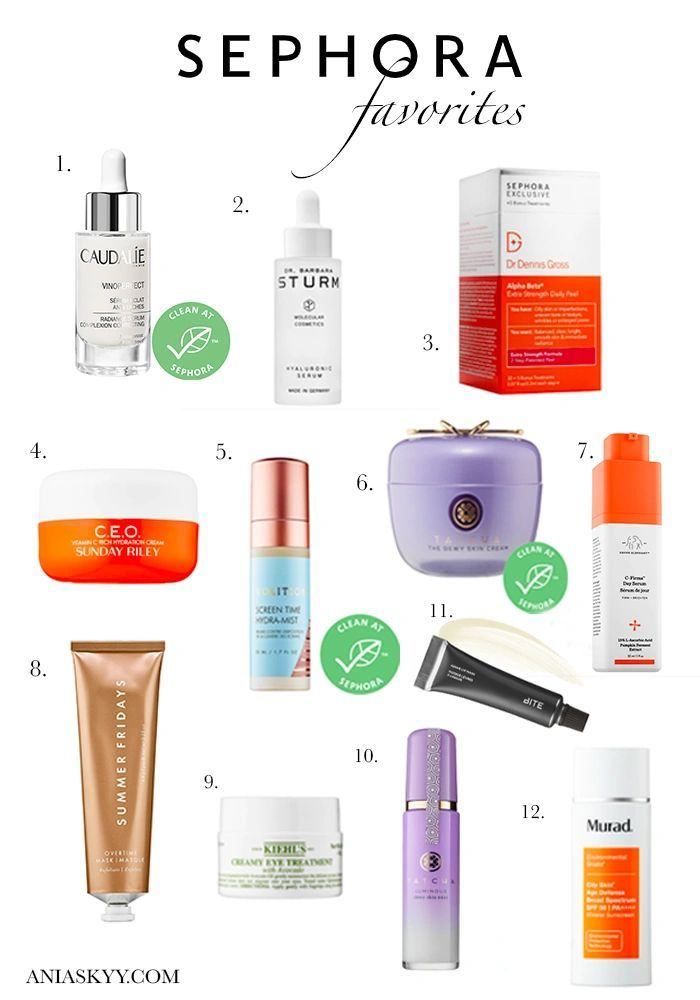 Sephora Skincare Must Haves Makeup Products Sephora Face Products Skincare Sephora