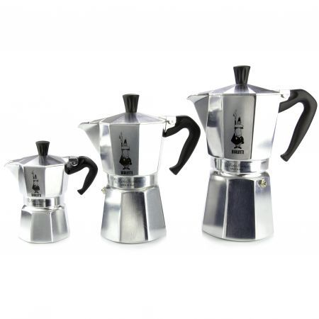 Bialetti Moka Express Espresso Maker - Moka Express is the world's number one coffee-maker and has been manufactured in over 200 million units. For an excellent cup of Italian coffee, Moka Express is the classic household coffee-pot and the only one to bear the unique mark of the little fellow with the moustache.