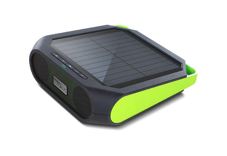 Rugged Weather Resistant Solar Bluetooth Speaker