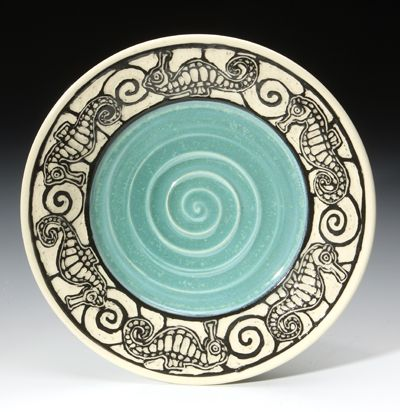146 Best Sgraffito Ceramics Images On Pinterest