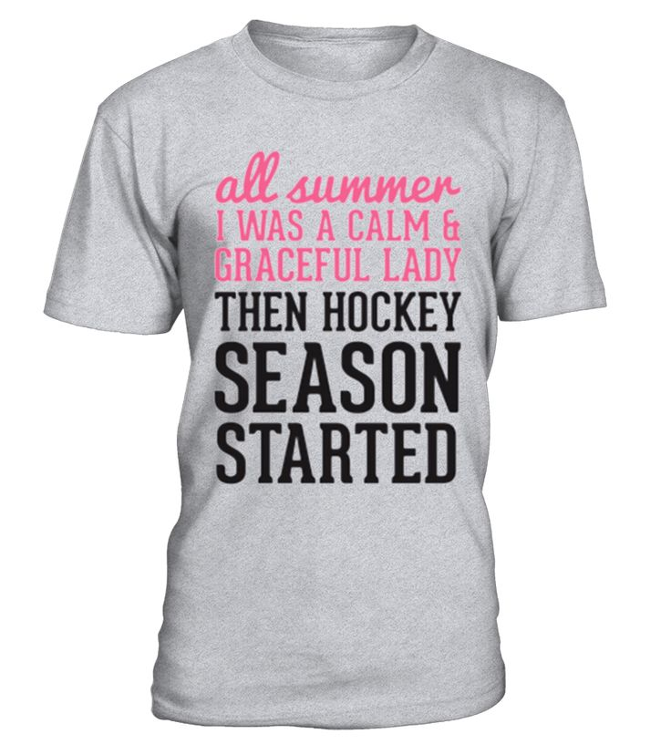 THEN HOCKEY SEASON STARTED   => Check out this shirt by clicking the image, have fun :) Please tag, repin & share with your friends who would love it. #hockey #hockeyshirt #hockeyquotes #hoodie #ideas #image #photo #shirt #tshirt #sweatshirt #tee #gift #perfectgift #birthday #Christmas