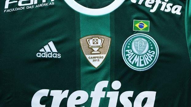 Por Copa Rio de 1951, Palmeiras enfrentará Atlético-MG com bandeira do Brasil no uniforme