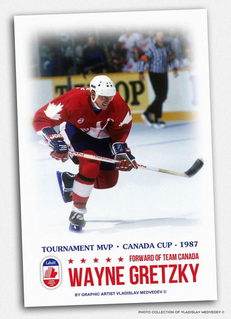 Wayne Gretzky #hockey #canada #canadacup #хоккей #mvp