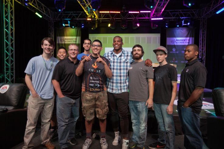 Cam Newton Plays in a Madden NFL 15 Tournament on Campus | Full Sail University Blog