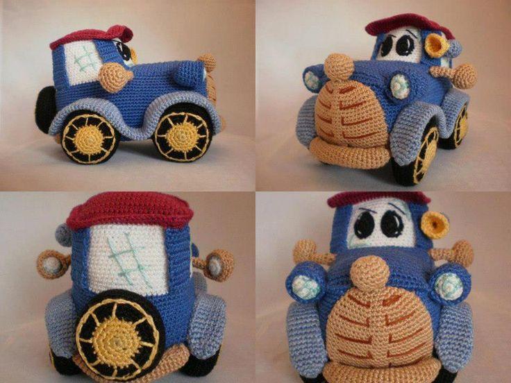 Amigurumi Patterns Cars : 81 best háčkovaná autíčka crochet cars images on pinterest