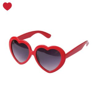 Laat de zomer maken ;-) hartjes zonnebril rood @jetjesenjobjes