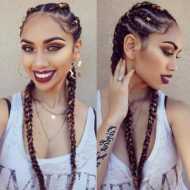 31 Best Ghana Braids Hairstyles                                                                                                                                                     More