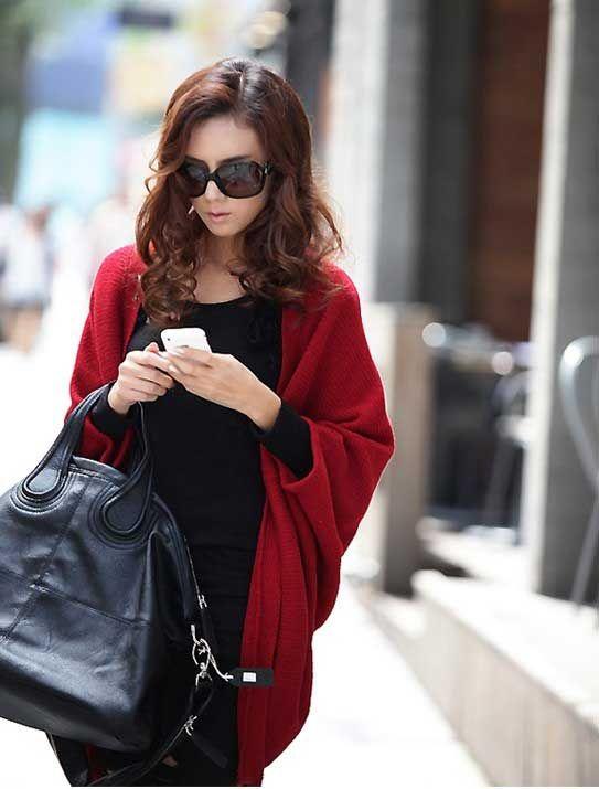 Горячая распродажа женщина широкий рукава летучая мышь украл роскошные шарфы женская зимняя ручной вязки кашемир пашмины Bufandas манта кабо пончо купить на AliExpress