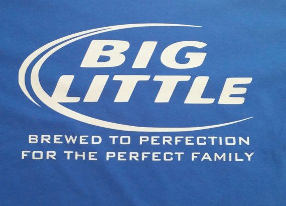 Big Little Sorority Shirt