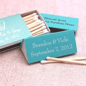 Tiffany Blue Personalized Matches