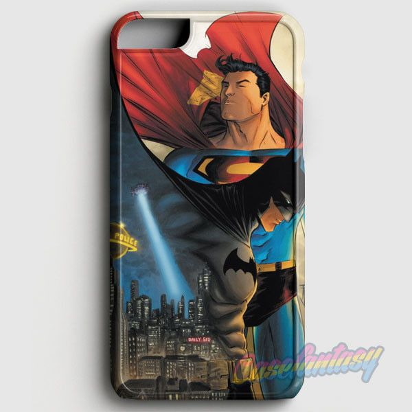 Batman Vs Superman Comic iPhone 6/6S Case | casefantasy