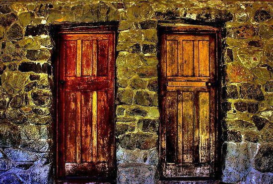 South Island, New Zealand.: Doors Closes Open, Doors Closesopen, Doors Close Open