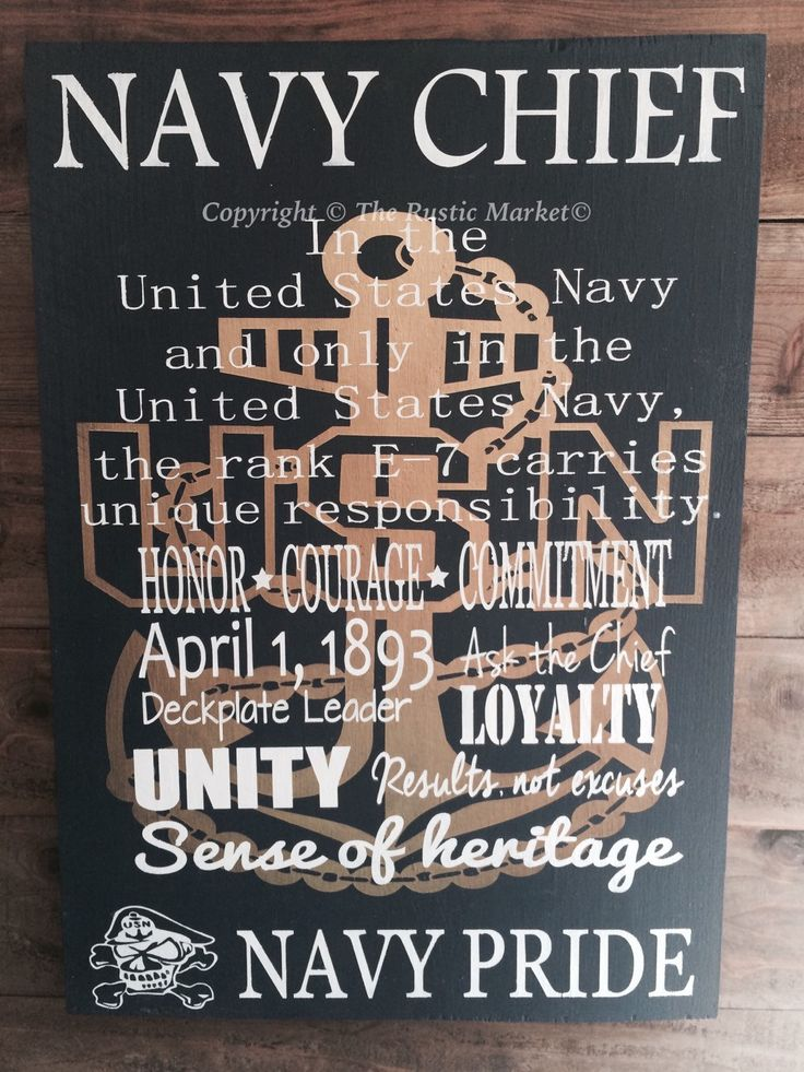 Navy Chief wood subway board - Chief select - gift - ceremony - celebration - U.S. Military - U.S. Navy by RusticMarketbyNikki on Etsy