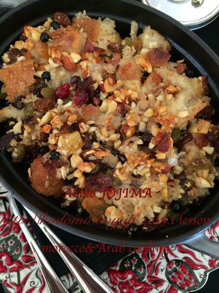 2015.1 morocco&arab cooking school  UMM ALI