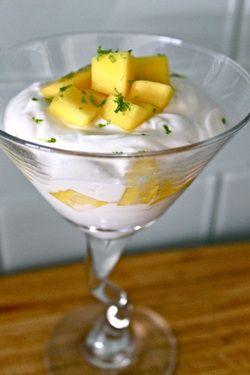 Joghurt #Mango Griechisch