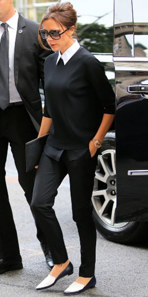 Victoria Beckham : On Adore Son Look Bcbg !