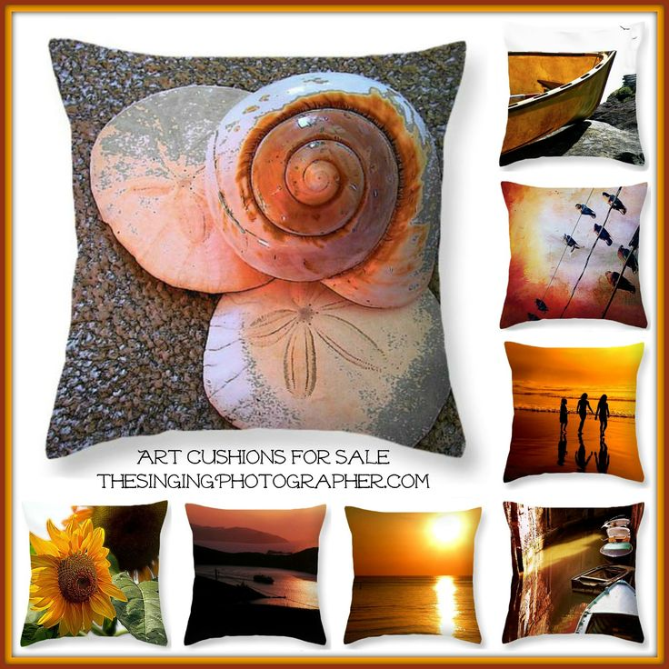 Art cushions / Throw pillows by TheSingingPhotographer.com