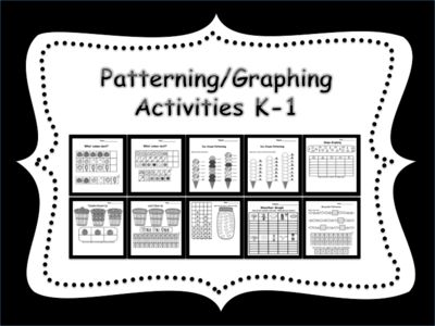 Patterning/Graphing+Activities+for+K-1+from+Teaching+The+Smart+Way+on+TeachersNotebook.com+-++(10+pages)++-+Patterning/Graphing+Activities+for+K-1