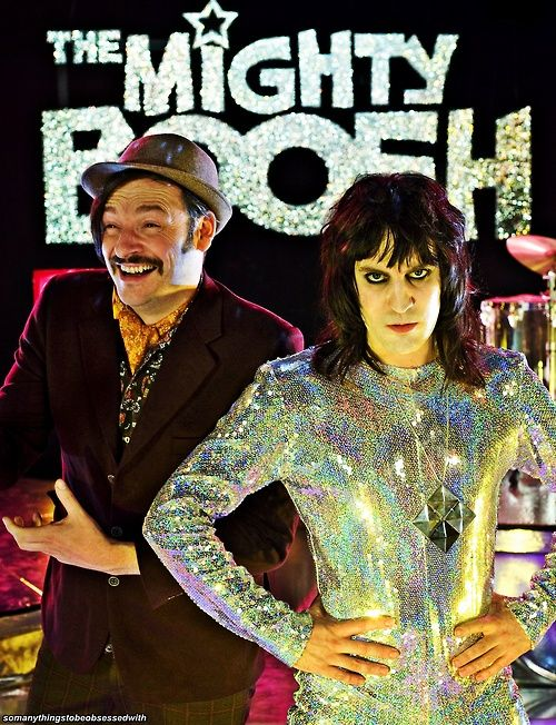 Julian Barrett and Noel Fielding..they are...the mighty boosh!
