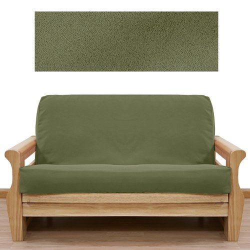 ultra suede sage pine futon cover full 646 by slipcovershop   79 00  in stock   12 best futon covers images on pinterest   futon covers quilt      rh   pinterest
