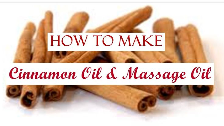 How to make Cinnamon Oil & Massage Oil - Λάδι Κανέλας και Λάδι για μασάζ