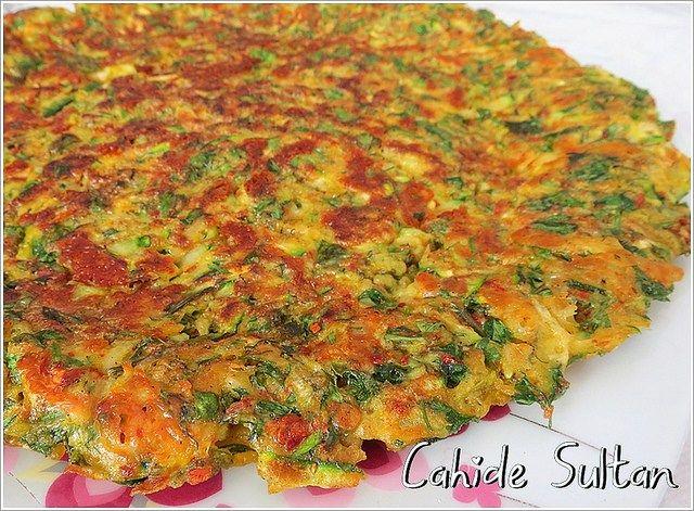 mücver omlet