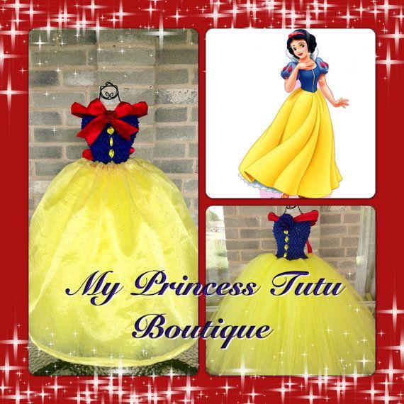 Snow White Princess Tutu Dress Snow White by MyPrincessTutuBoutiq, $100.00
