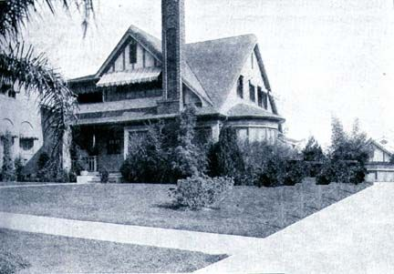 Marie Prevost and Kenneth Harlan home