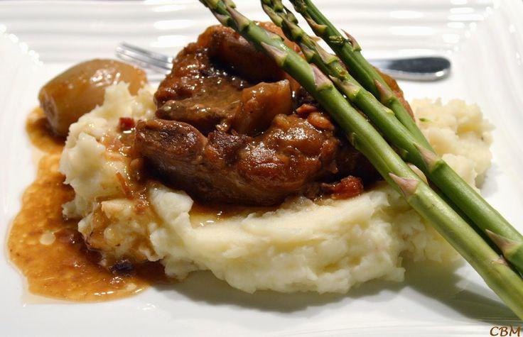Dans la cuisine de Blanc-manger: Jarret de porc (Antoine Sicotte)