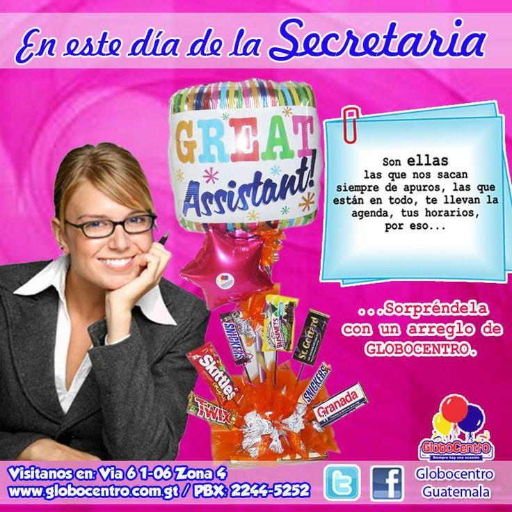 #Globocentro les desea un #Feliz #Dia a todas las #Secretarias!! #Dios les #Bendiga!!!