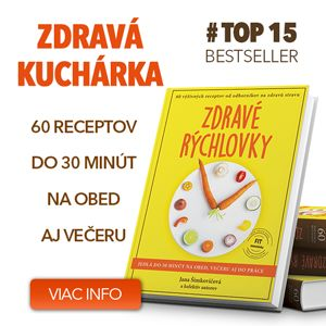 Zdravé recepty a tiež všetko o zdravej výžive, životnom štýle a cvičení na Cvičte.sk.