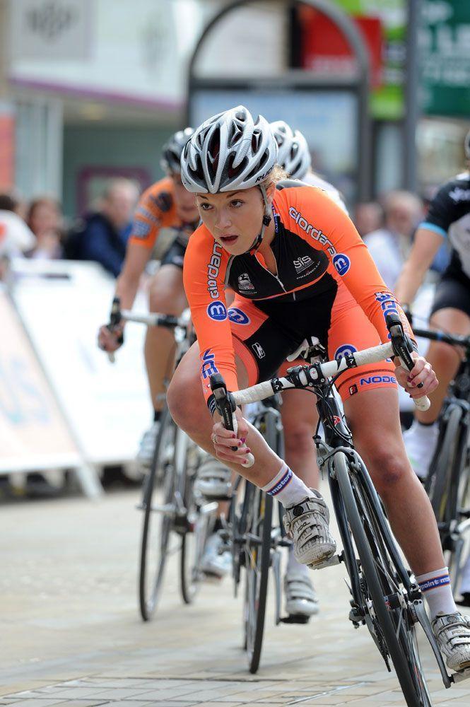 British cyclist, Lucy Garner
