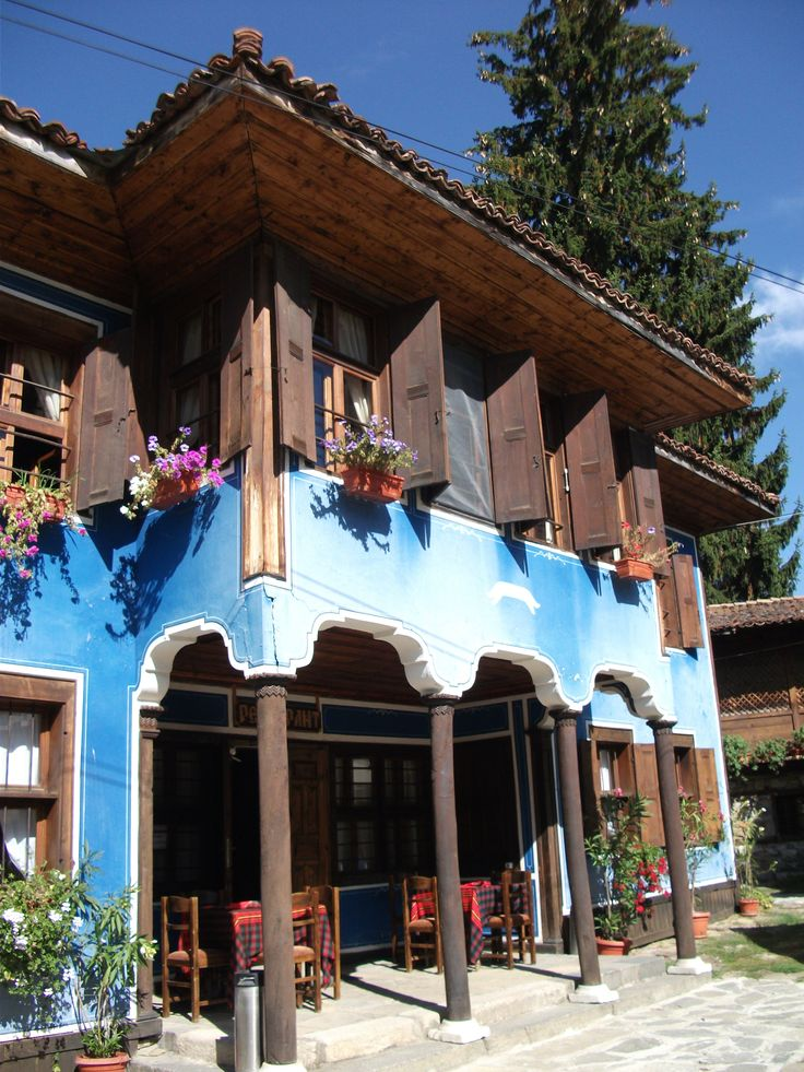 Bulgarian style old house, Koprivshtica, Bulgaria