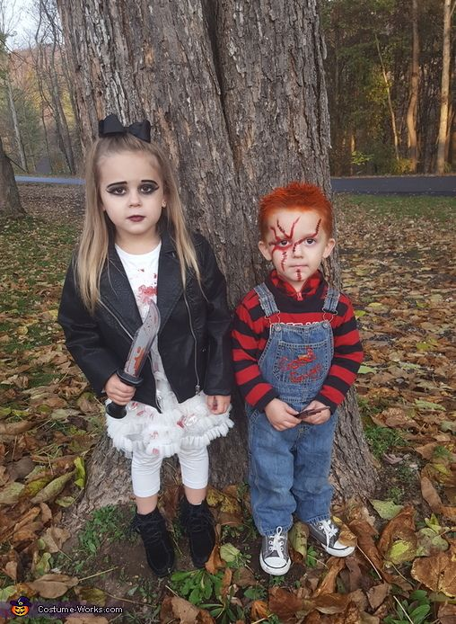 chucky and the bride costume costume for kidshalloween - Halloween Costumes For Boy And Girl
