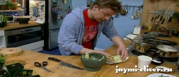 Чесночное масло по рецепту Джейми Оливера