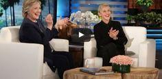 Hillary Clinton's Dance Move With Ken Bone On The Ellen Degeneres Show Are Hilarious
