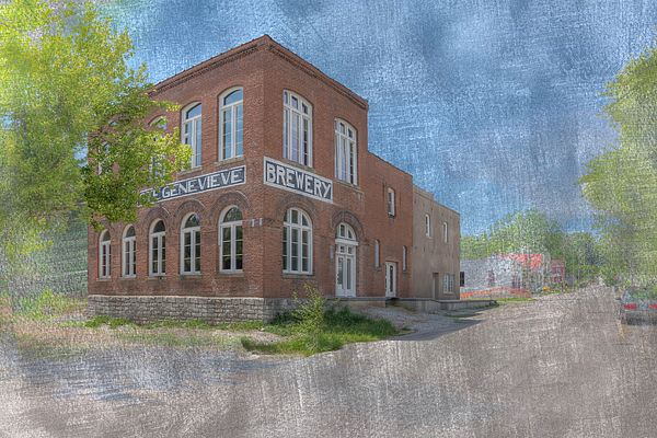 555 North Third  Ste Genevieve Missouri   1890  Listed on the National Register of Historic Places   Established by Valentine Rottler.  Its product was self proclaimed  The Nectar of the Gods.      #hdr #horizontal #photography #historic #old #village #SteGenevieve #missouri #tavern #DigitalArt #building #architecture #classic  #vintage #pictorial #nrhp  #brick #brewery
