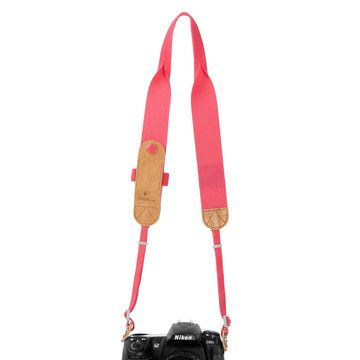 My design inspiration: Tyler Camera Strap Strawberry on Fab.