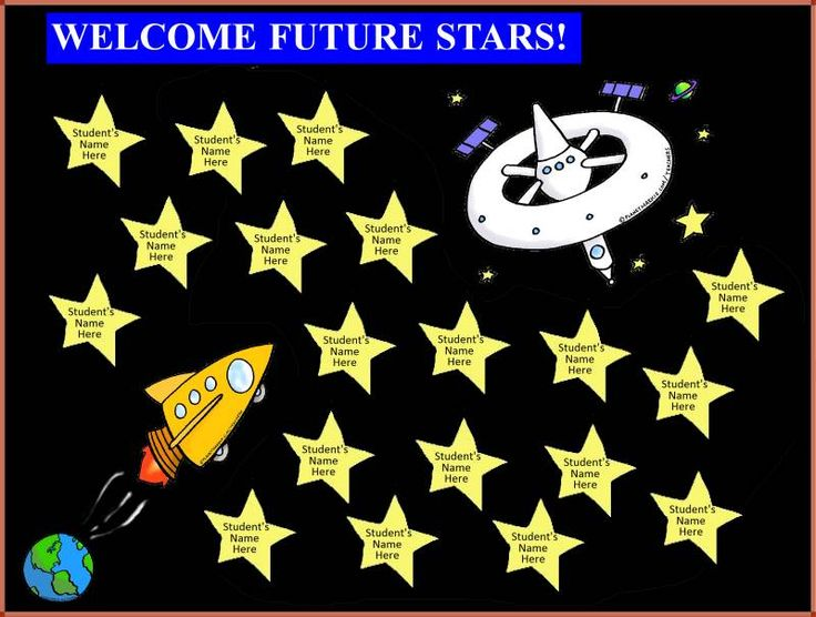 space theme bulletin board ideas and pictures - Bing Images