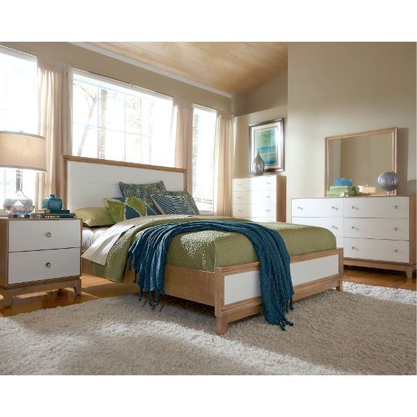 hashtag marshmallow white 6piece queen bedroom set