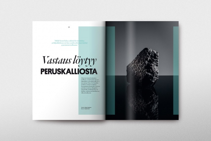 Life Magazine #3 / Client: Mandatum Life, Agency: Wonder Helsinki