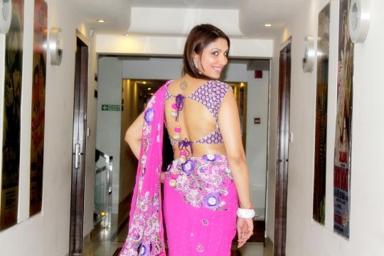 Pooja Misrra sizzles in Ahmadabad for Navratri and her upcoming movie