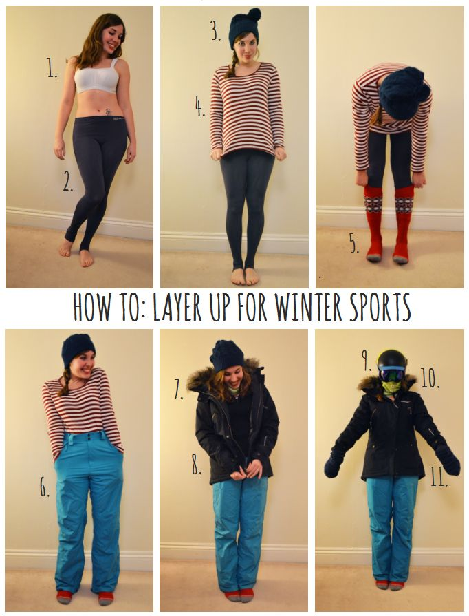 Girl's guide to dressing for snowsports on thegirloutdoors.co.uk