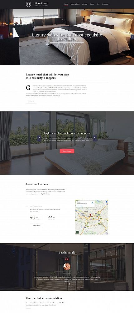 91 best images about hotel website templates on pinterest luxury