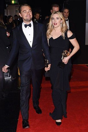 And, of course, she spent some quality time with longtime bestie and fellow BAFTA winner Leonardo DiCaprio. | Kate Winslet Had The Time Of Her Life At This Year's BAFTAs