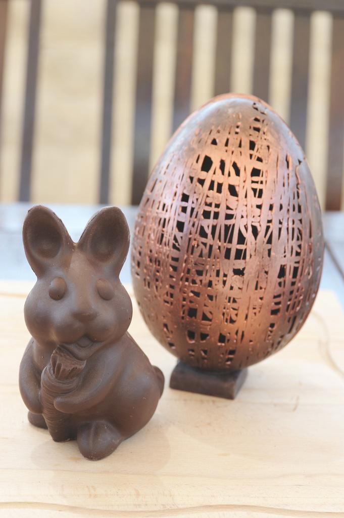 Chocolate! #chocolate #pasqua #easter #egg #food #rabbit #gikitchen