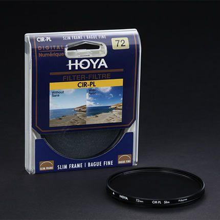 Hoya 46mm 49mm 52mm 55mm 58mm 62mm 67mm 72mm 77mm 82mm polarizador circular cpl filtro para nikon canon dslr camera lens envío gratis